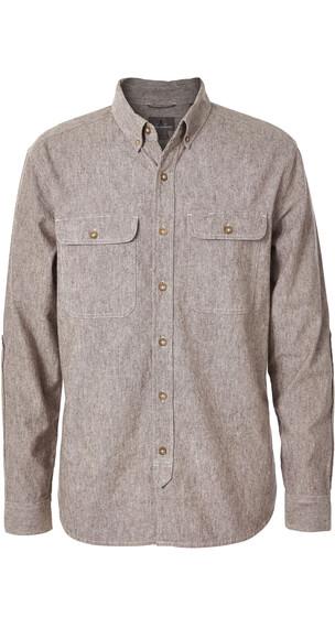 Royal Robbins Headwall overhemd en blouse korte mouwen Heren beige